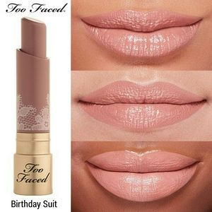Too Faced Natural Nude Coconut Butter Lipstick